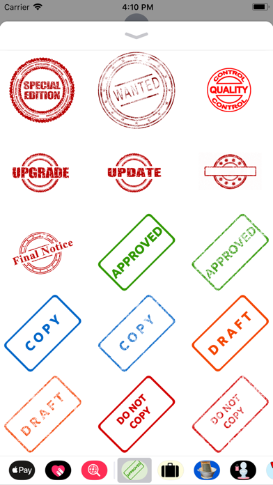 Stamp It Stickers screenshot two