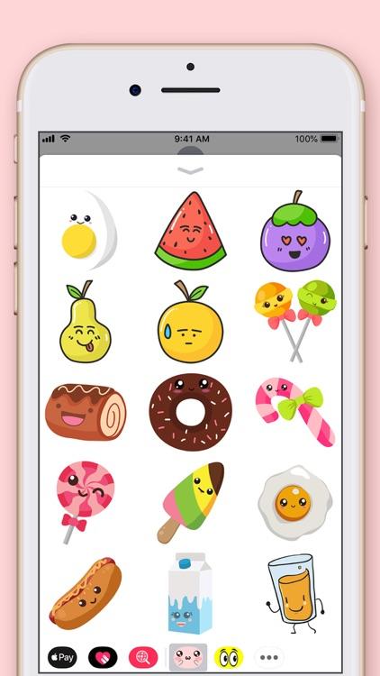 Cute Kawaii Stickers screenshot-4