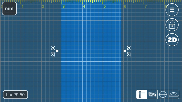Millimeter Pro - screen ruler screenshot-3