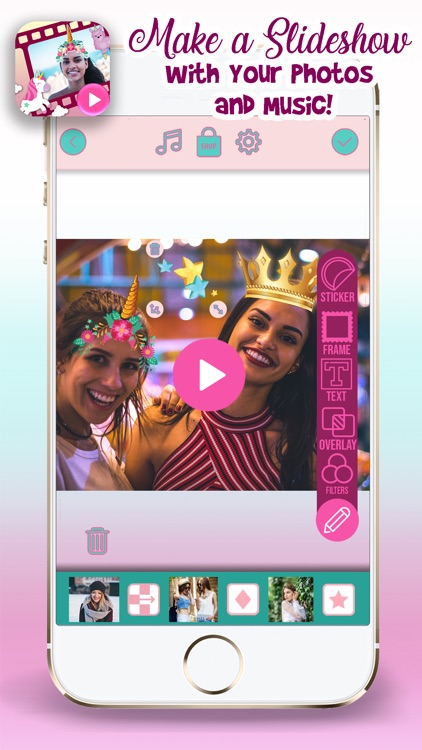 Unicorn Video Maker with Music screenshot-2