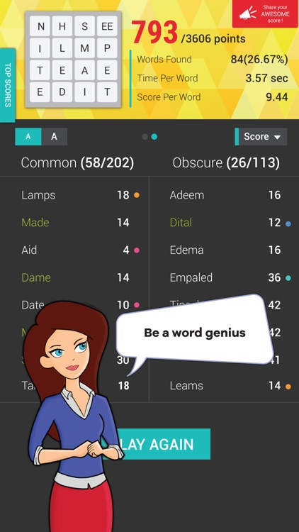 Wordathon: Classic Word game screenshot-3