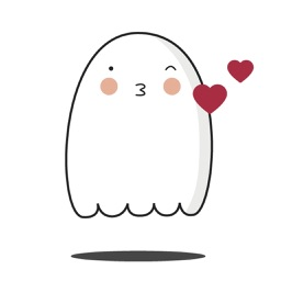 Cute Ghost Emojis