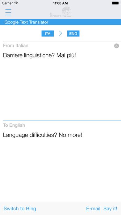 Dictionary Italian English review screenshots
