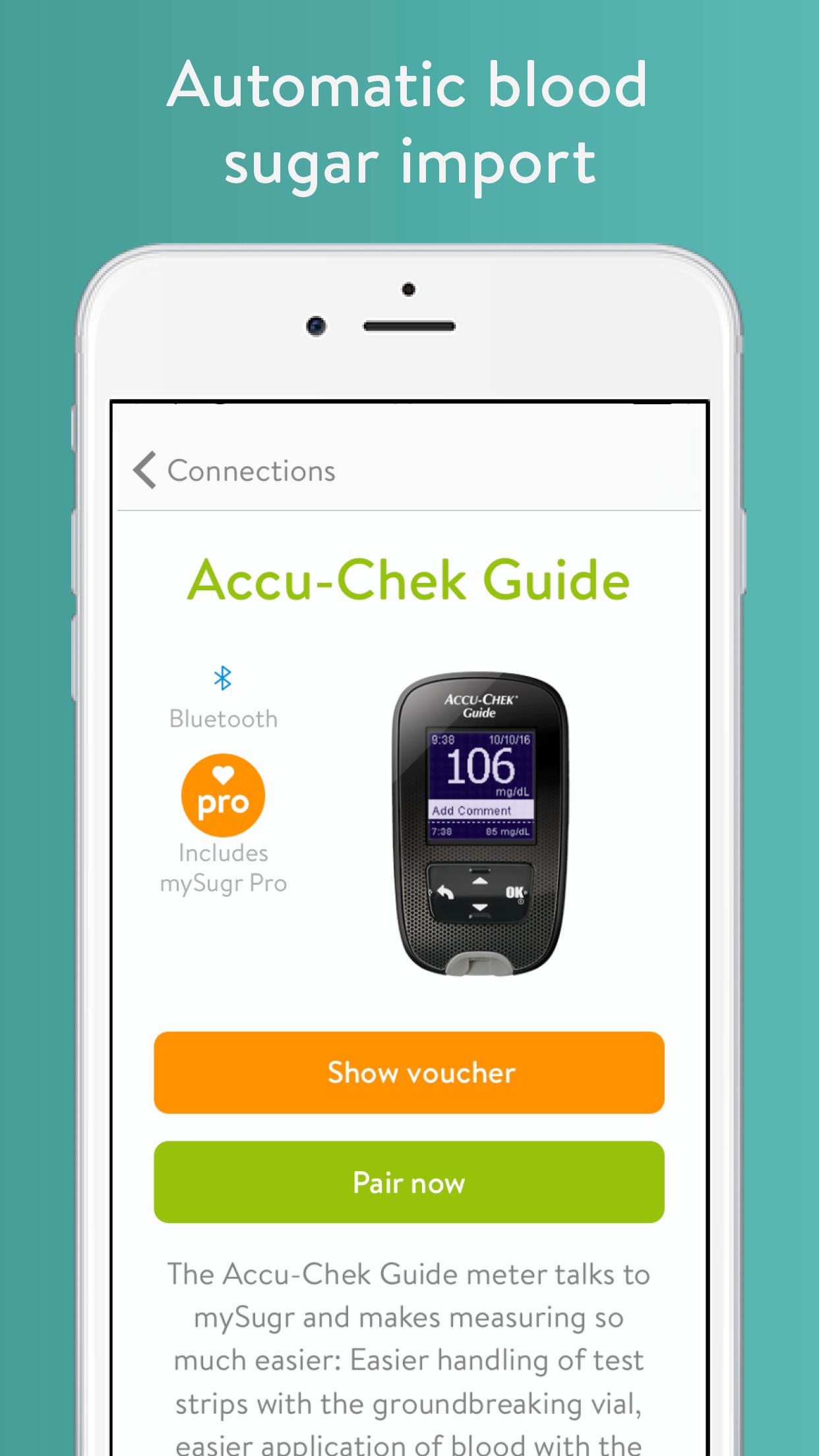mySugr: Diabetes Tracker Log Screenshot