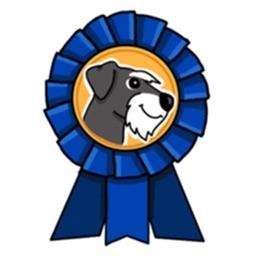 Miniature Schnauzer Dog - SchnauzerMoji Stickers