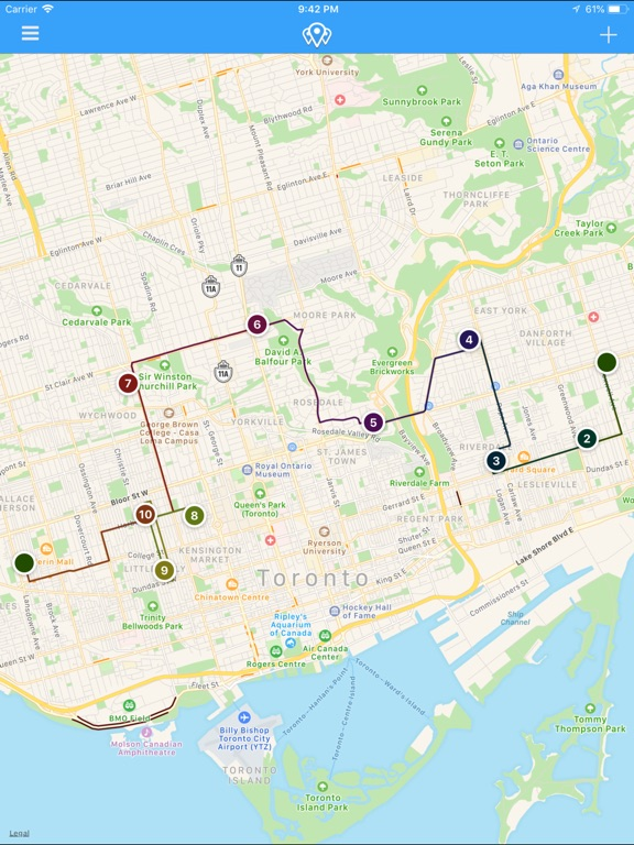 Route - Delivery Tracker Screenshots