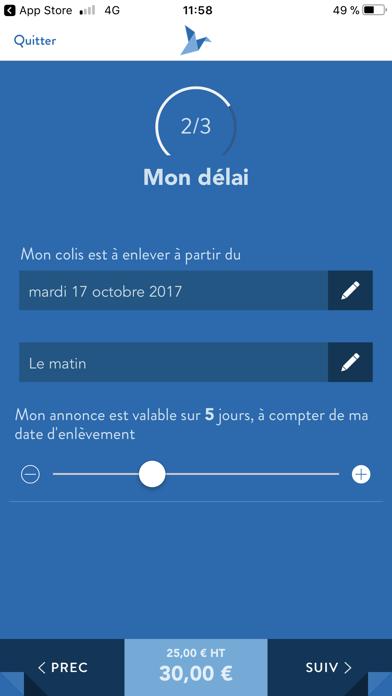 USEND Livraison Personnalisée screenshot three