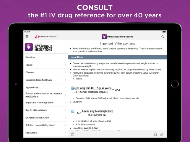 IV Medications Gahart on the App Store