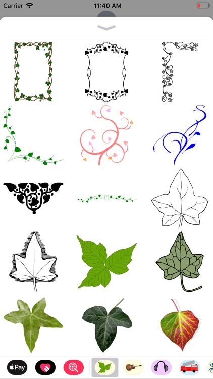 Lovely Ivy Stickers