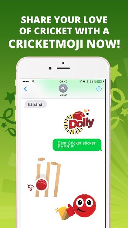 CricketMoji - Cricket stickers screenshot-3