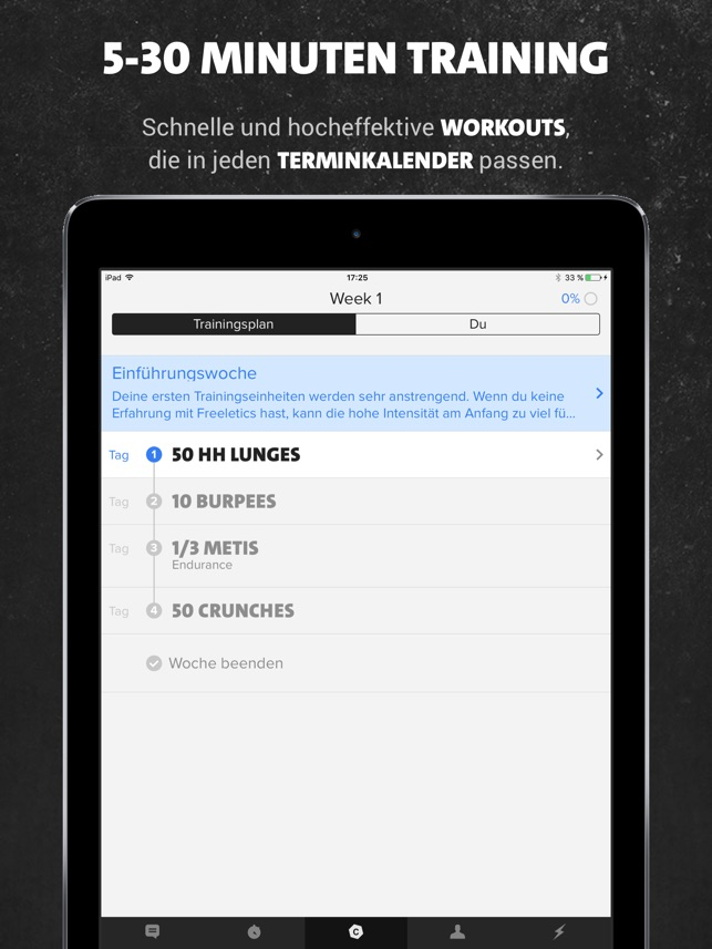 Freeletics: Workout & Fitness Screenshot