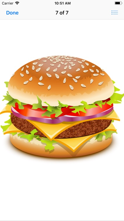 Heavenly Hamburger Stickers