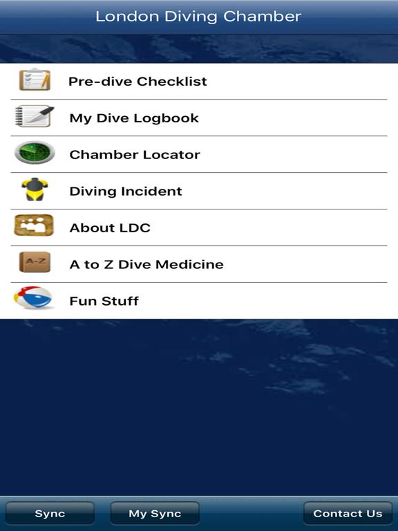 London Diving Chamber screenshot