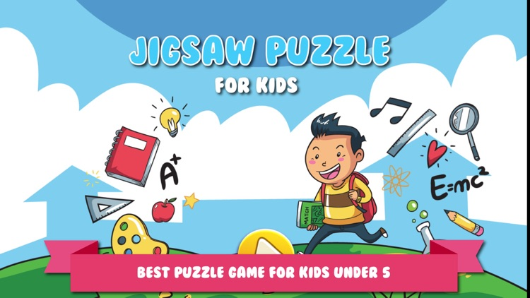 Jigsaw Picture Blocks for Kids