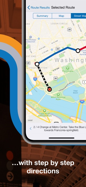 Washington DC Metro Route Map on the App Store