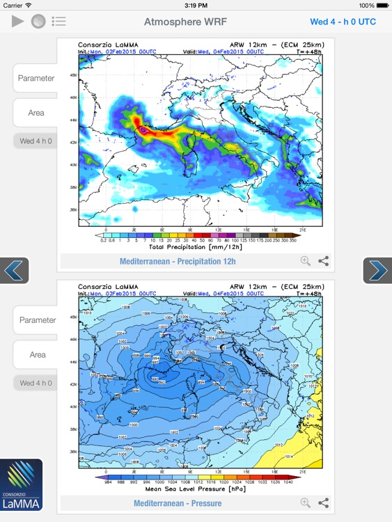 Atmosphere WRF for iPad screenshot-1