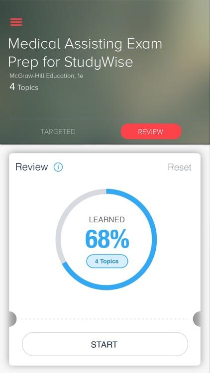StudyWise Med Asst Cert Review
