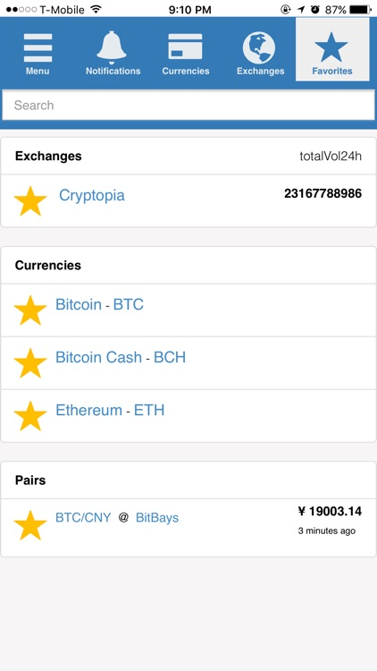 CrypDates - Unified cryptocurrency notifier screenshot-3
