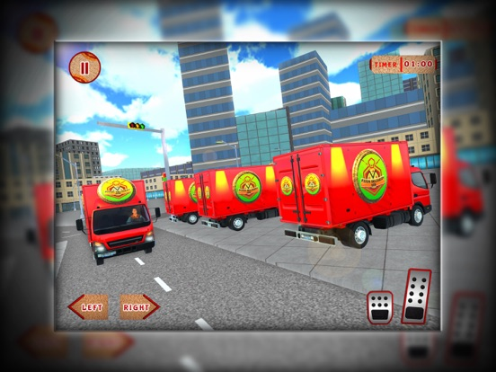 City Pizza Cargo Delivery Boy screenshot #4