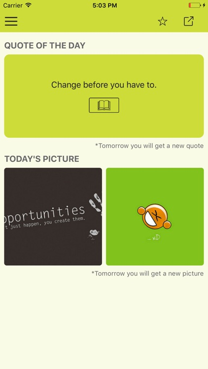 Daily confidence quotes & motivational wallpapers screenshot-0