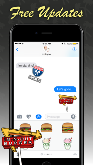 In-N-Out Emoji Screenshot