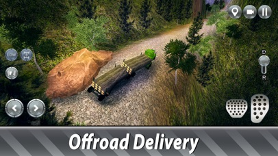 Sawmill Trucks Simulator screenshot 2