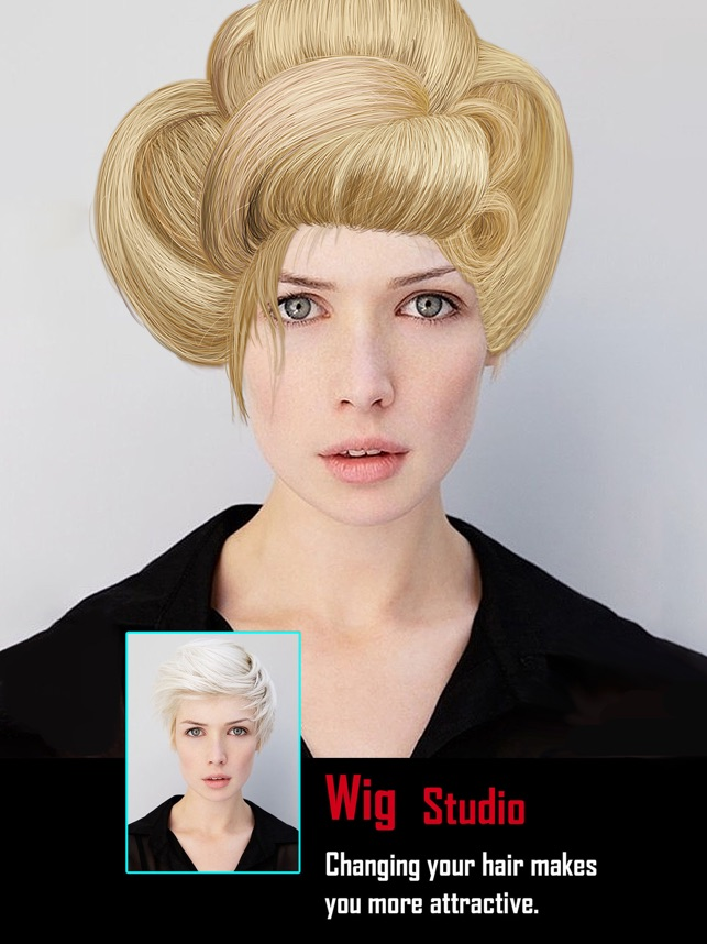 Wig Studio Hair Design Booth On The App Store