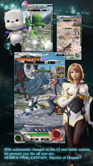 MOBIUS FINAL FANTASY iphone images