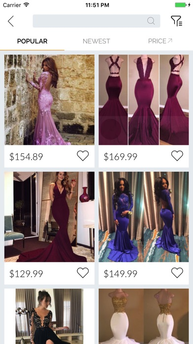 DreamProm - 2018 Prom Dresses by Fishinthesky Holdings Limited (iOS ...