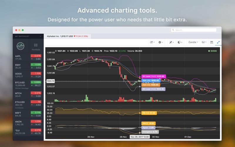 Stockfolio - Stocks Portfolio Screenshot