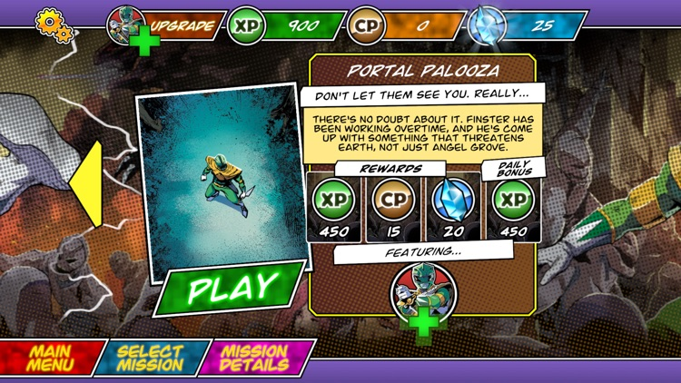 Power Rangers Morphin Missions screenshot-4