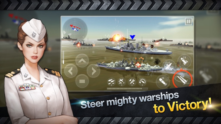 WARSHIP BATTLE:3D World War II screenshot-4