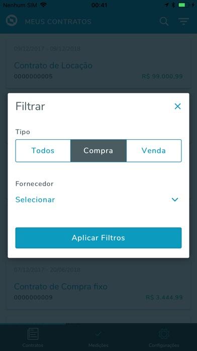 TOTVS Meus Contratos screenshot