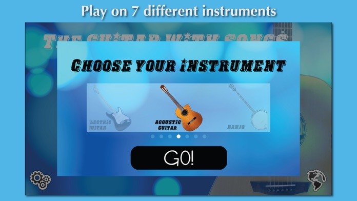 The Guitar with Songs Screenshot
