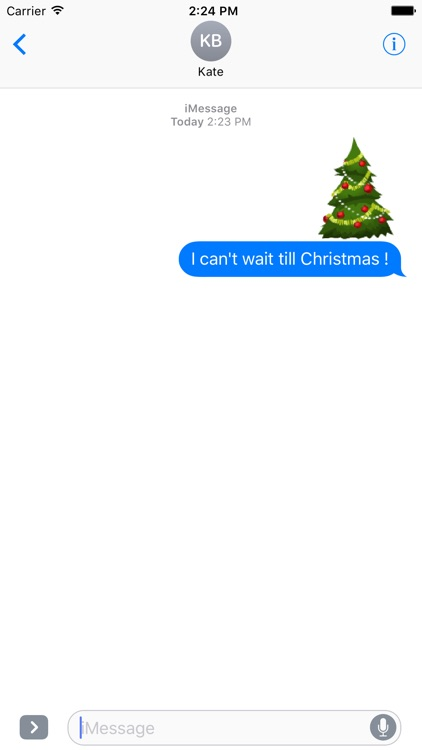 Animated Christmas Stickers