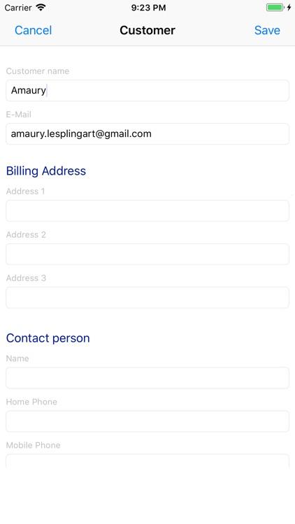 Invoice Pro. screenshot-7