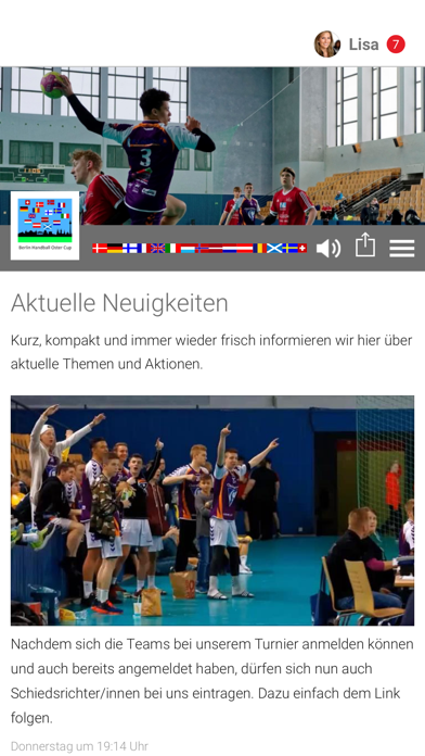 Handball Berlin Ostercup screenshot 1