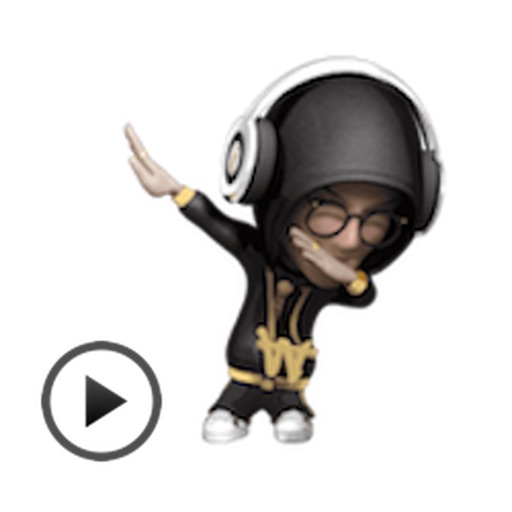 Checkitout Hip Hop Rap Animated Sticker