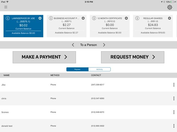 JSC FCU Mobile for iPad screenshot-3