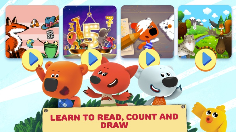 Be-be-bears: Early Learning screenshot-0