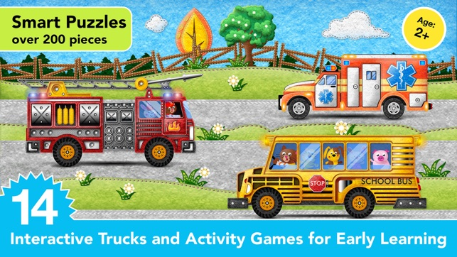 Kids Vehicles Fire Truck games on the App Store