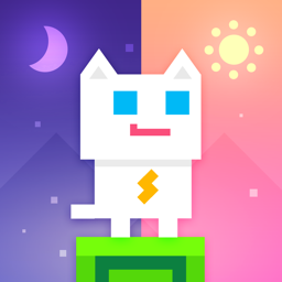 Ícone do app Super Phantom Cat - Be a jumping bro.