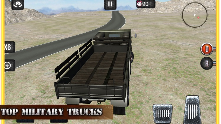Offroad Army Truck
