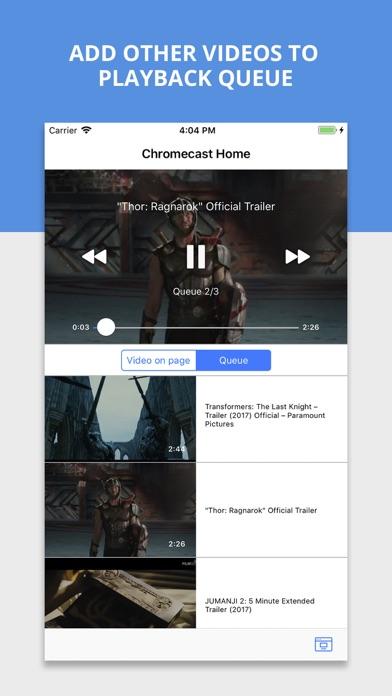 Castio - Cast to Chromecast TV - AppRecs