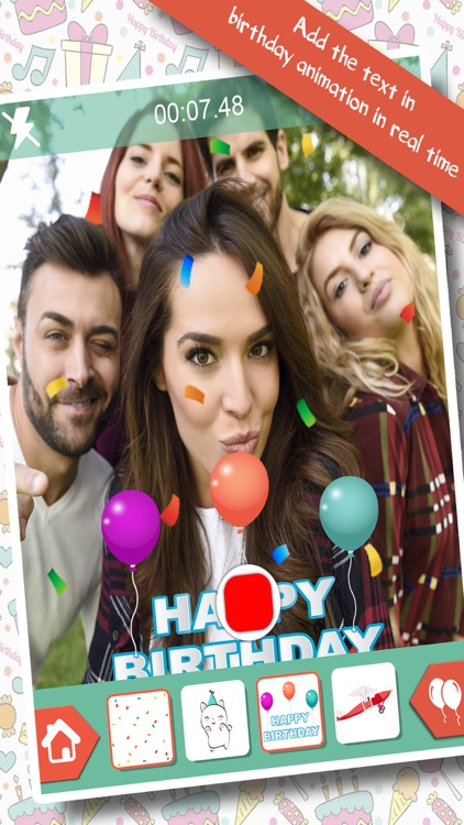 Birthday Gifs - Video Editor screenshot-0