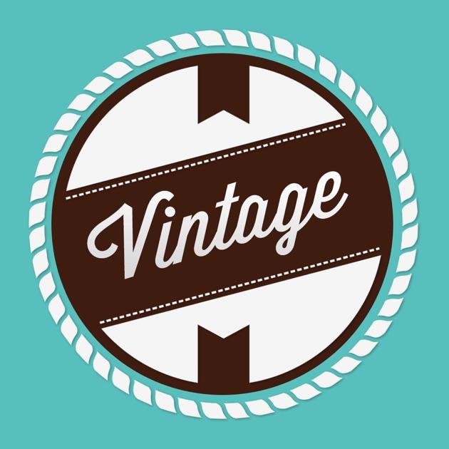 vintage logo maker creator on the app store