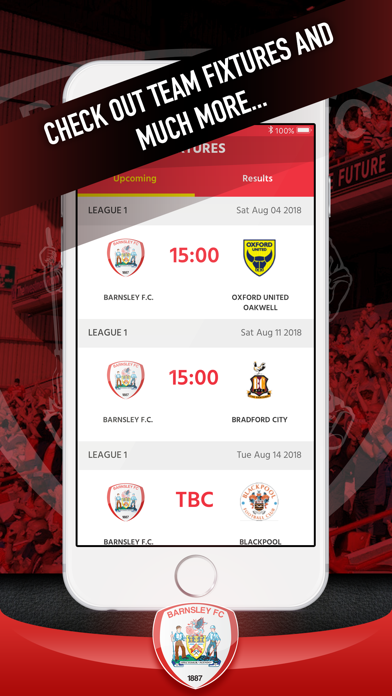 Barnsley FC Fan App screenshot three