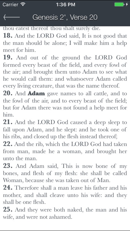 Holy Bible (King James) screenshot-4