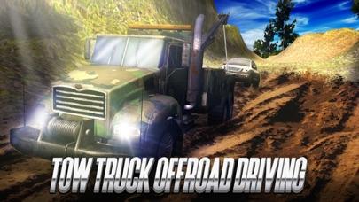 Tow Truck Offroad Driving Screenshot