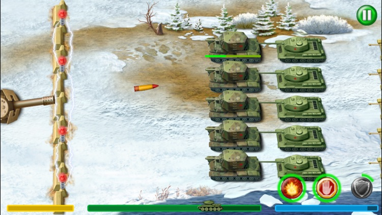 World War 2 Tank Defense screenshot-5